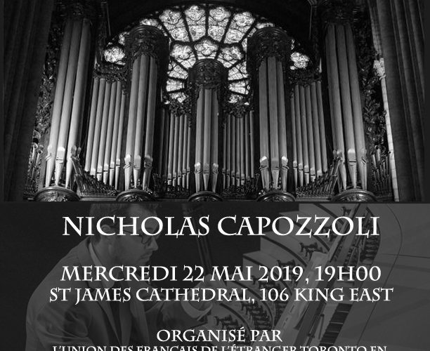 Benefit Concert for the Restoration of Notre Dame Organ