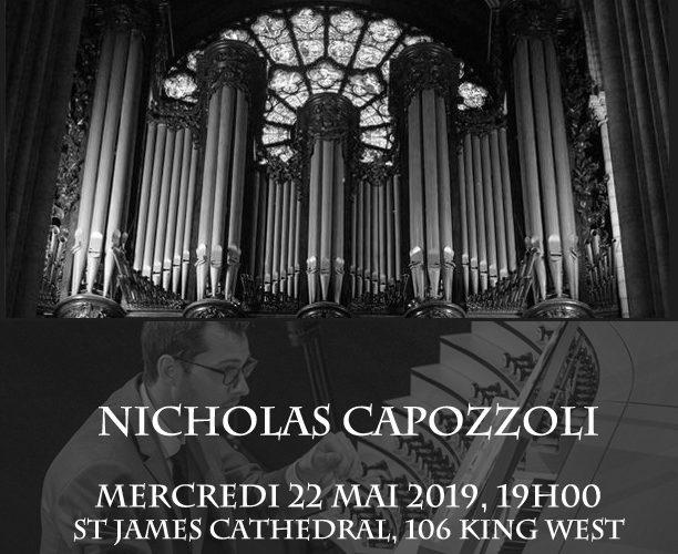 Concert de musique pour le Grand Orgue de Notre Dame